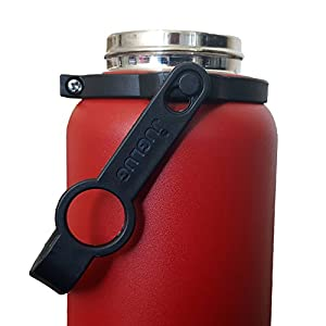JugLug® Pivot (Rotating Handle Carrier) for Hydro Flask® Type Bottles (Black)
