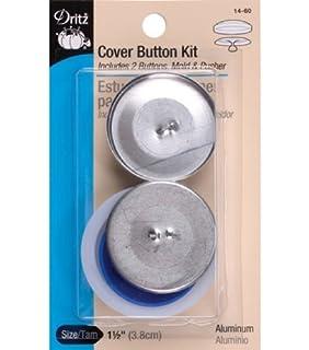 Amazon.com: Dritz Aluminum Cover Button Kits-Many Sizes