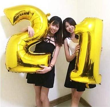 3歳 お誕生日 数字バルーン 誕生日 大きい 風船 ナンバー 40インチ バースデー 赤ちゃん パーティー飾りに (3)