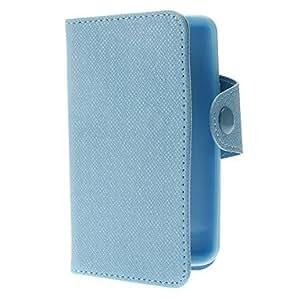 Funda protectora de cuero PU con ranura para tarjeta para Samsung Galaxy S2 i9100