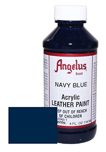 Angelus Acrylic Leather Paint 4oz Navy