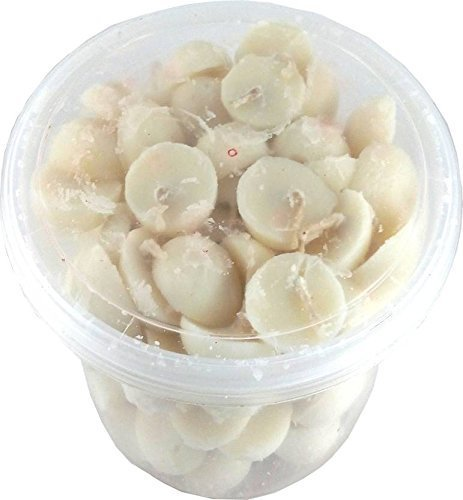 Buycrafty Pure Cow Ghee Wicks (Pack of 100 Pcs) / Readymade Ghee Cotton Wicks / Diya Batti / puja Batti Home Decor, gift