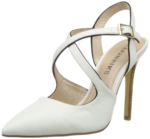 Blanc Sandales N CAFèNOIR grisé femme A pour Blanc RwHFAaYq