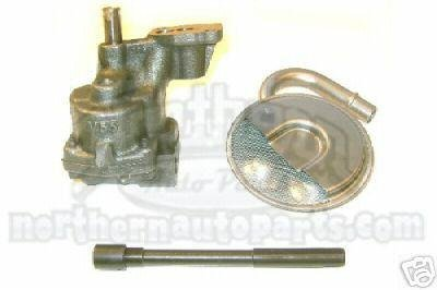 M55HV Melling Hi Volume Oil Pump With Pinned Steel Shaft And Pickup Screen Chevy Oil Pump Shaft