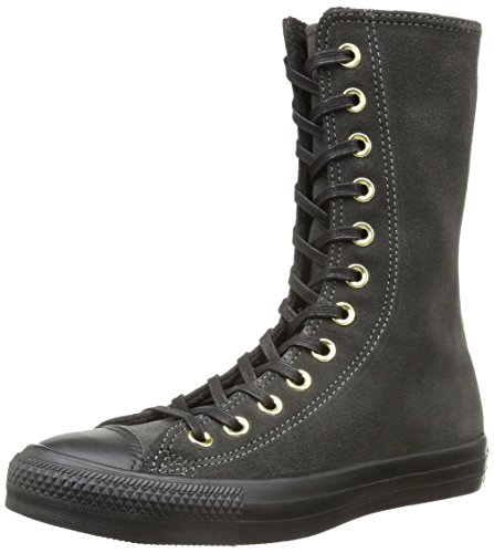 Converse All Star X-hi Zip Suede, Men's Sneakers Boots Gray (Iron/Black)