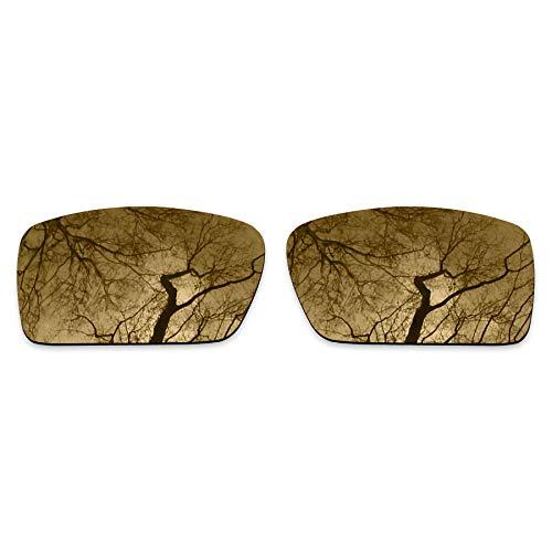 ToughAsNails Polarized Lens Replacement for Oakley Gascan Sunglass - Bronze Gold (Lenses Bronze Oakley Gascan)