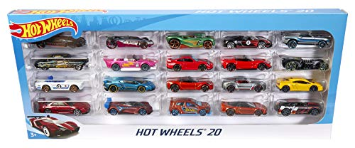 - Hot Wheels 20 Car Gift Pack (Styles May Vary)
