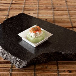 (Petite, Square, White, Abyss Dish Plates 10/20)