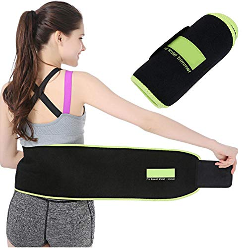 (Zer one Sweat Absorption Back Support Sports Back Waist Brace Fitness Protective Waistband for Back Pain & Stress Relief(L))