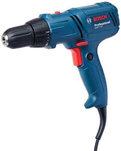 Parafusadeira / Furadeira GSR 7-14 E 220V, Bosch 06014470E0-000, Azul