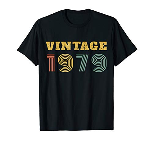 40th Birthday Gift Vintage 1979 Year T-Shirt
