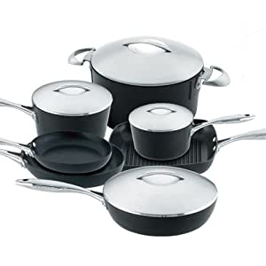 Scanpan professional 11 piece deluxe gift set for Naaptol kitchen set 70 pieces
