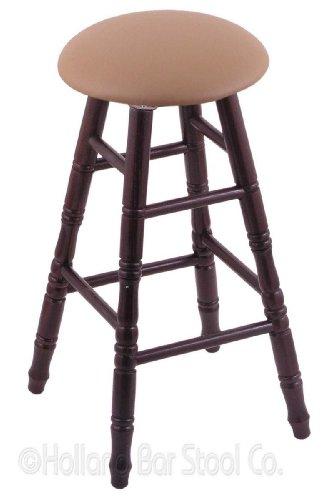 Oak Bar Stool in Dark Cherry Finish with Allante Beechwood Seat price