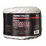 Power Wizard NB-2, Nitro Braid 1/4'' 9 Strand, 1312 Ft/400 M Red Tracer, Pack of 2 pcs
