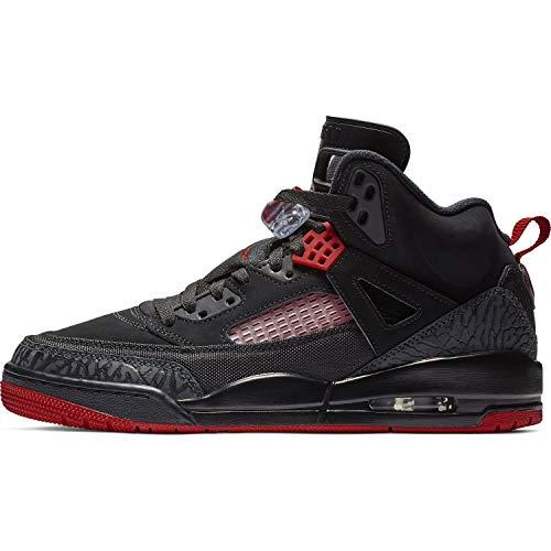 Nike Mens Air Jordan Spizike Basketball Shoes Black Gym Red-Anthracite 315371-006 Size 9.5
