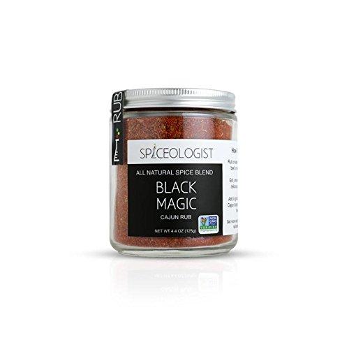 Spiceologist - Black Magic BBQ Rub and Seasoning - Cajun Blackened Spice Blend - 4.4 - Blackening Cajun Seasoning