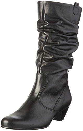Gabor Shoes 56.072, Botas Altas Mujer Negro (schwarz (Micro) 57)