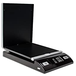 Accuteck Dreamcolor Black 86 Lbs Digital Shipping Scale