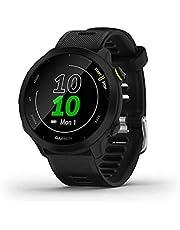 Garmin Forerunner 55 - Reloj GPS para Correr con Entrenamiento Diario sugerido, hasta 2 semanas de duración de la batería, Color Negro