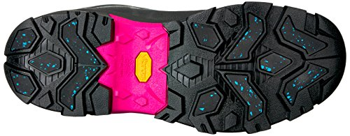 41ue0WIxKjL Muck Boot Women's Arctic Ice Mid Work Boot, Black/Pink, 6 M US