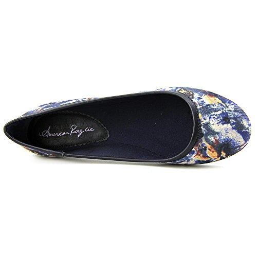American Rag Cellia 9de las mujeres Ballet Flats Blue Floral