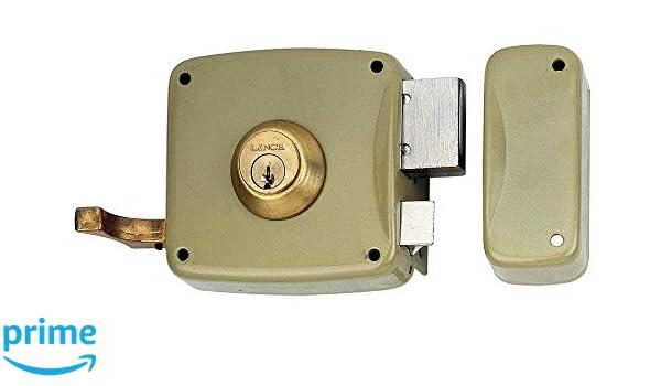 Lince 3017225 Cerradura 5125-ap/100 Izquierda, Oro: Amazon.es: Bricolaje y herramientas