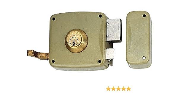 Lince 3017225 Cerradura 5125-ap//100 Izquierda Oro