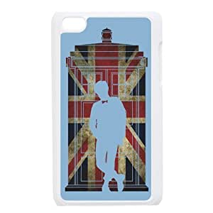 Danny Store Protective Hard PC Cover Case for iPod Touch 4, 4G (4th Generation), Dr.who Tradis