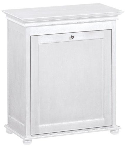 Hampton Bay Tilt out Bathroom Hamper, 27''Hx24''Wx13''D, WHITE by Home Decorators Collection