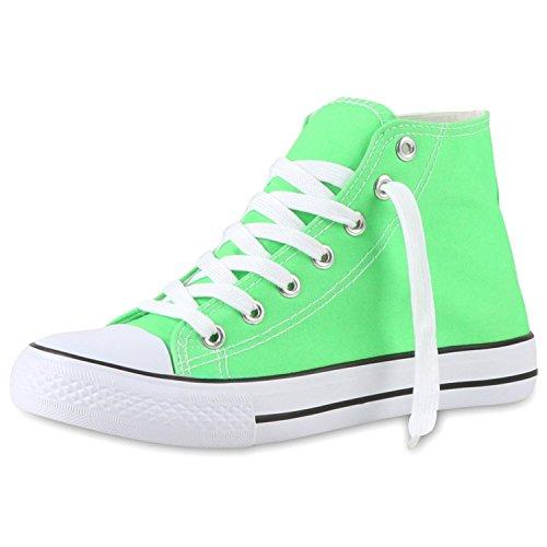 Japado - Zapatillas Mujer Verde - verde claro