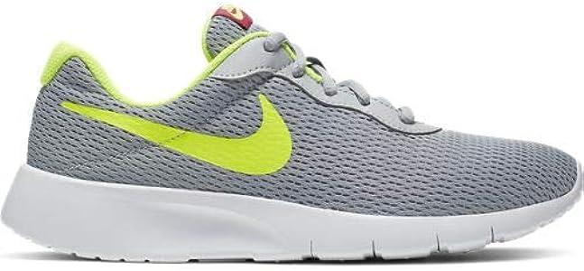 Nike Tanjun (GS), Zapatillas de Running para Asfalto para Niños, Multicolor (Wolf Grey/Volt/Rush Pink 022), 36.5 EU: Amazon.es: Zapatos y complementos