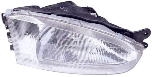 - Go-Parts ª OE Replacement for 1997-2002 Mitsubishi Mirage Front Headlight Headlamp Assembly Front Housing/Lens/Cover - Right (Passenger) Side - (2 Door; Coupe) MR296308 MI2503110 for Mit