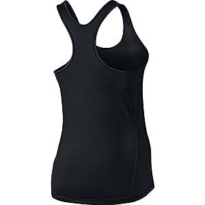 Nike Women's Pro Cool Tank Top Black/White MD