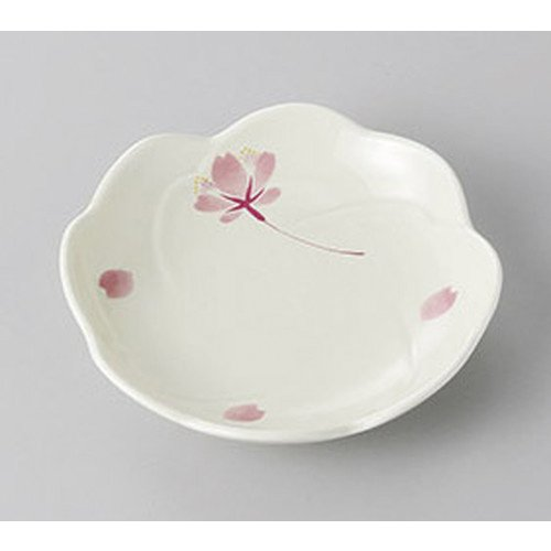 [mkd-268-7-93e] Small plate Arita-yaki cherry blossom dance small dish [10.5 x 2 cm] Ryotei Ryokan Japanese food machine restaurant business use