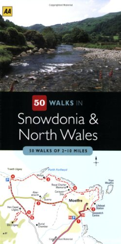 50 Walks in Snowdonia & North Wales: 50 Walks of 2-10 Miles