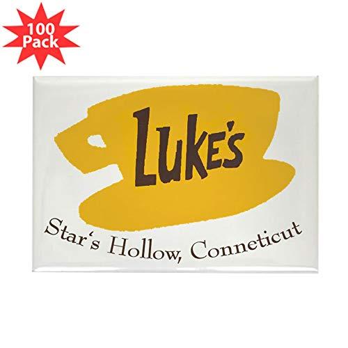CafePress Lukes2 Rectangle Magnet (100 pack)
