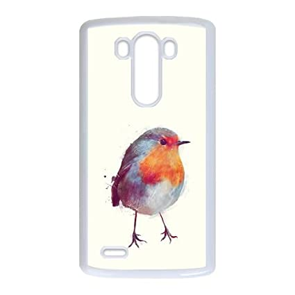 Lg G3 Cell Phone Case White Winter Robin Fvcpb Amazonca Cell