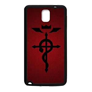 DAZHAHUI Fullmetal Alchemist Cell Phone Case for Samsung Galaxy Note3