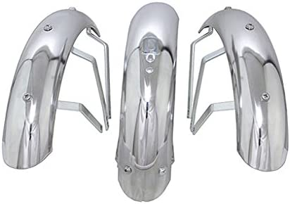 "NEW Bicycle 20/"" Classic Stander Front Fender Chrome Bike Part Replacement Fende"