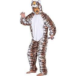 Fancy Me Overol para Hombre y Mujer, diseño de Gato Tigre, para el día del Libro, Festival de Carnaval, Disfraz de Carnaval, Traje de L/XL