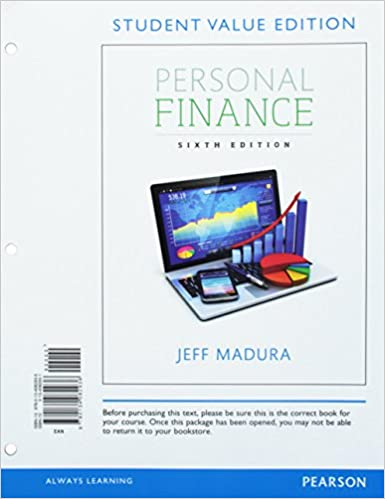 Personal finance student value edition 6th edition pearson personal finance student value edition 6th edition pearson series in finance 6th edition fandeluxe Image collections