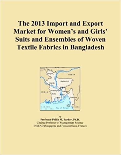 Book The 2013 Import and Export Market for Women's and Girls' Suits and Ensembles of Woven Textile Fabrics in Bangladesh