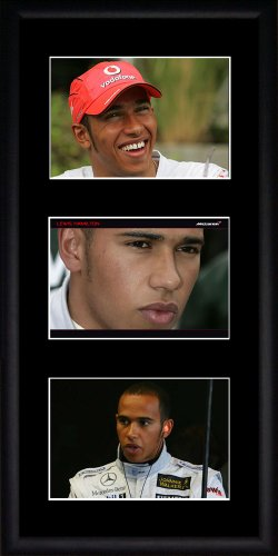 Lewis Hamilton Framed Photographs