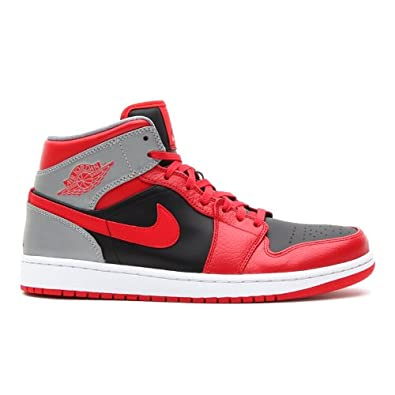 Nike AIR JORDAN 1 MID 554724-603-40 - 7 Rouge