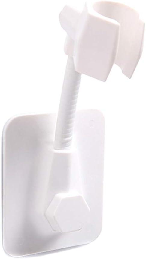 CNSELLER Vacuum Suction Shower Head Holder Universal Adjustable Shower Arm Bracket Relocatable Handheld Showerhead Holder for Bathroom Home