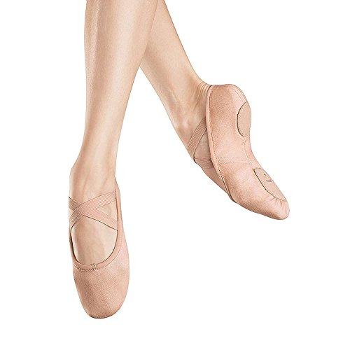 Bloch Dance Womens Zenith Ballet Flat, Pink, 6.5 D US