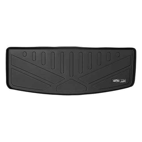 (SMARTLINER All Weather Cargo Liner Floor Mat Behind 3rd Row Seat Black for 2017-2018 GMC Acadia with 3rd Row Seats (No All Terrain Models))