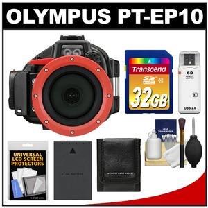 Olympus PT-EP10 carcasa submarina para cámara: Amazon.es: Electrónica