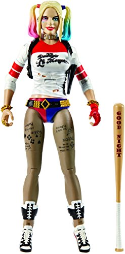 DC Comics Multiverse Suicide Squad Harley Quinn Figure (Authentic Joker Costume)