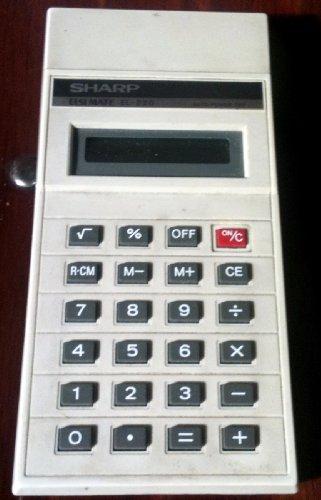 Sharp ELSI Mate EL-220 Vintage Calculator